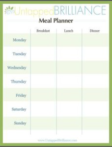 mealplanning 228x300ADHD Meal Planning