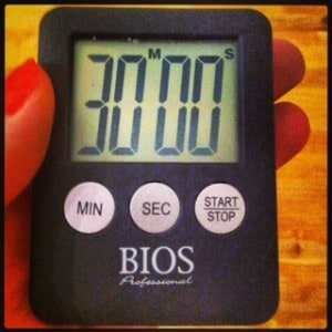 ADHD and Kitchen Timers!
