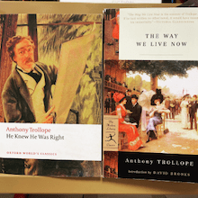 A productivity tip from Anthony Trollope